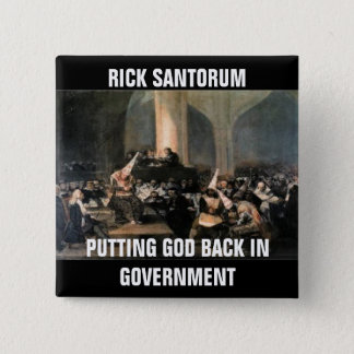 ANTI-SANTORUM INQUISITION BUTTON