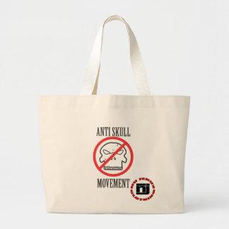 Anti Skull Movement Jumbo Tote Bag