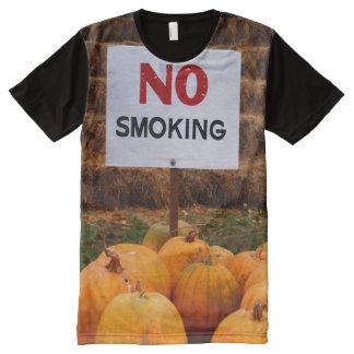 Anti-Smoking Pumpkins All-Over Print T-Shirt