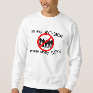 Anti-Social Basic Sweatshirt