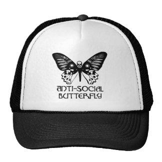 Anti-Social Butterfly Trucker Hats