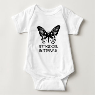 Anti-Social Butterfly Infant Creeper