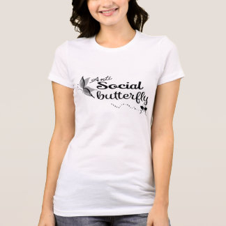 Anti Social Butterfly Shirt