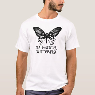 Anti-Social Butterfly T-Shirt