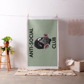 ANTI-SOCIAL CLUB FLAG FABRIC