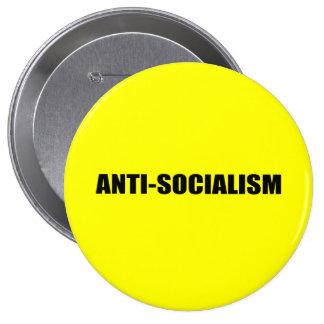 Anti-Socialism Pins