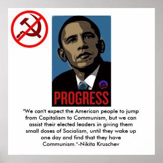 Anti-Socialism Poster