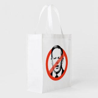 Anti-Spicer - Anti- Sean Spicer Reusable Grocery Bag