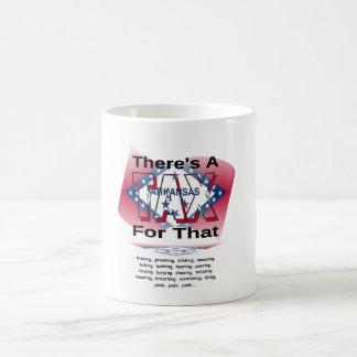 Anti-Tax (Arkansas) Basic White Mug