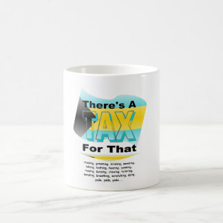Anti-Tax (Bahamas) Classic White Coffee Mug