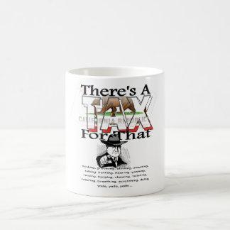Anti-Tax (California) Basic White Mug