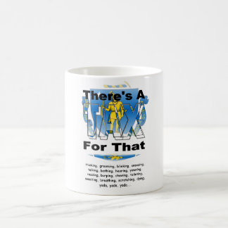 Anti-Tax (Massachusetts) Classic White Coffee Mug