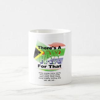 Anti-Tax (South Africa) Classic White Coffee Mug