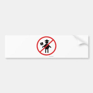 Anti teabagger bumper sticker