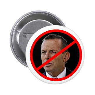 Anti Tony Abbott 6 Cm Round Badge