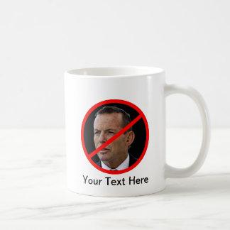 Anti Tony Abbott Basic White Mug