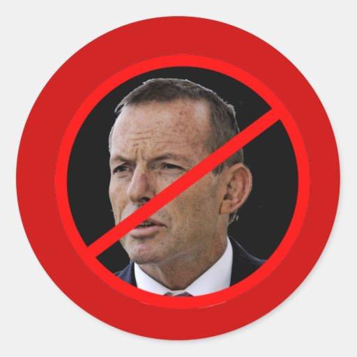 Anti Tony Abbott Sticker