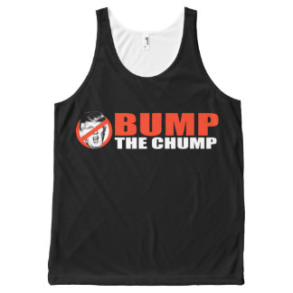 ANTI-TRUMP - Bump the Chump - - .png All-Over Print Tank Top