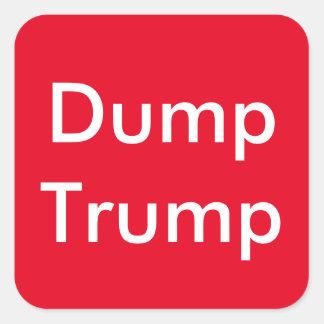 Anti Trump, Dump Trump Sticker