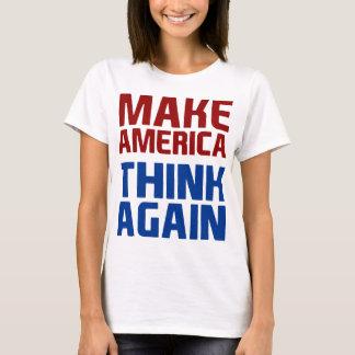 Anti Trump Make America Think Again T-Shirt