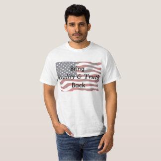 Anti Trump Pro-Truth American Flag Shirt