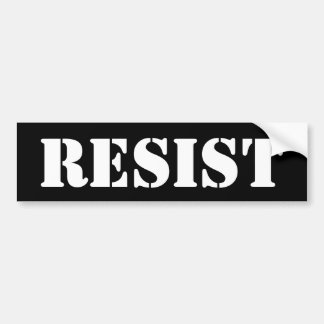 anti trump resist women march STICKER black white
