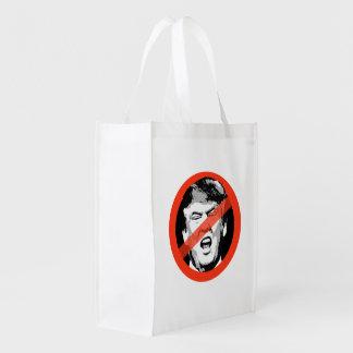 Anti-Trump Reusable Grocery Bag