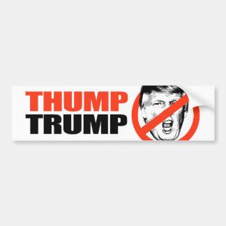ANTI-TRUMP - THUMP TRUMP - copy Bumper Sticker