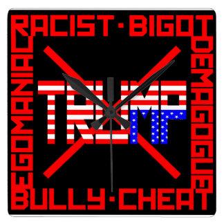 Anti Trump Wall Clocks
