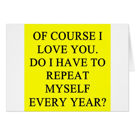 anti valentiine's day joke card