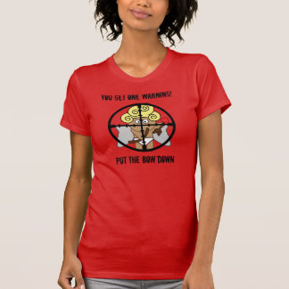 Anti- Valentines Cupid In The Crosshairs Tshirt