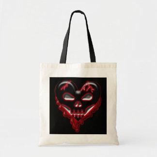 Anti-Valentine's Day: Doomed Heart Canvas Bag