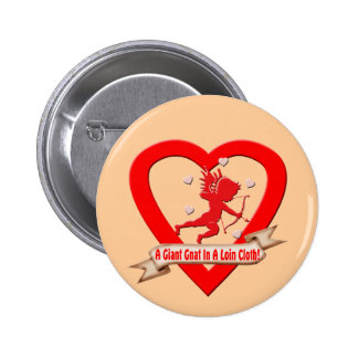 Anti Valentines Day T-shirts and Gifts 6 Cm Round Badge