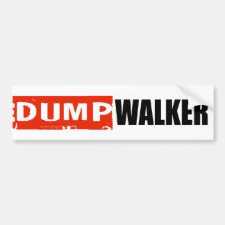 ANTI-WALKER BUMPER STICKER