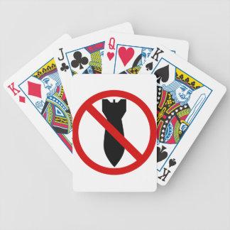 Anti War Bicycle Playing Cards