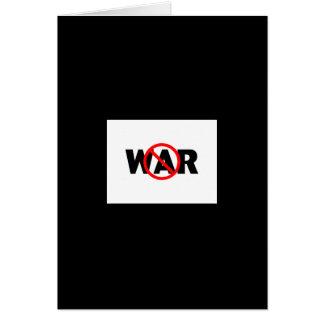 Anti-War Greeting Card
