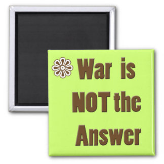 war is not the answer