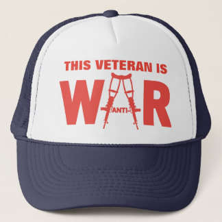 Anti-War Veteran Hat