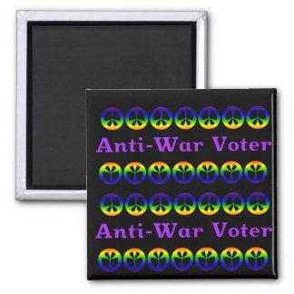 Anti-War Voter Square Magnet