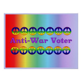 Anti-War Voter Poster