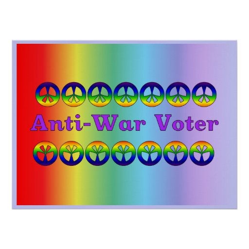 Anti-War Voter Posters