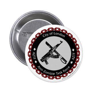 Anti-Zombie Task Force 6 Cm Round Badge