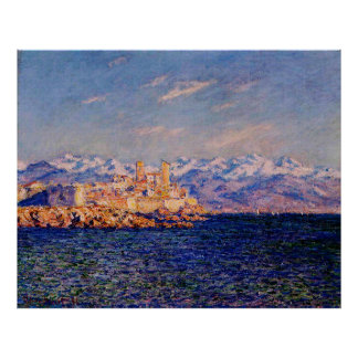 Antibes, Afternoon Effect,1888 Print