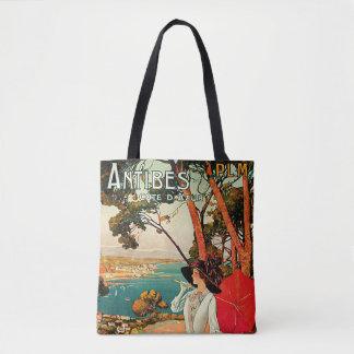Antibes Cote D'Azur Tote Bag