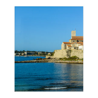 Antibes France Acrylic Wall Art