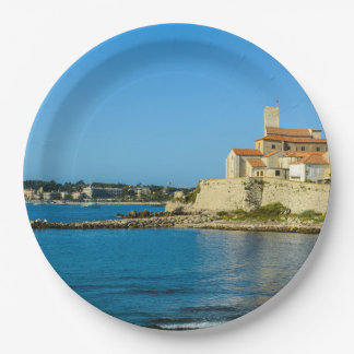 Antibes France Paper Plate