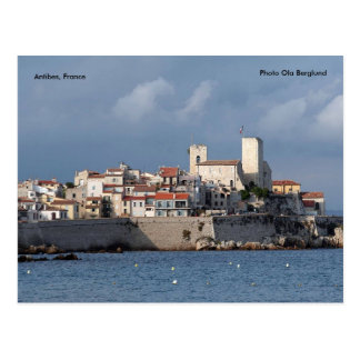 Antibes, France, Photo Ola Berglund Postcard