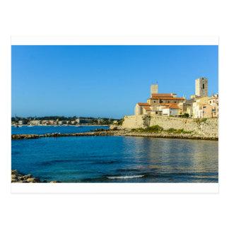 Antibes France Postcard