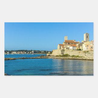 Antibes France Rectangular Sticker