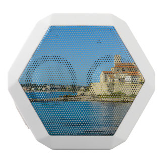Antibes France White Bluetooth Speaker